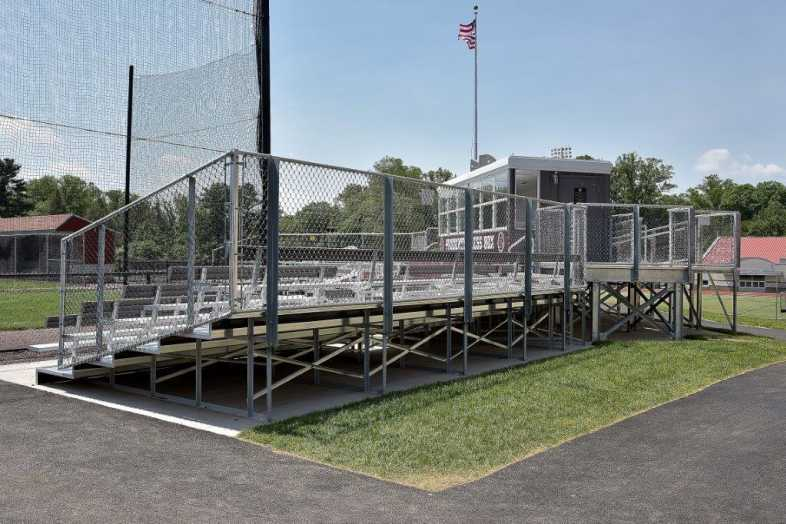 SWARTHMORE COLLEGE - BASEBALL BLEACHERS - 2