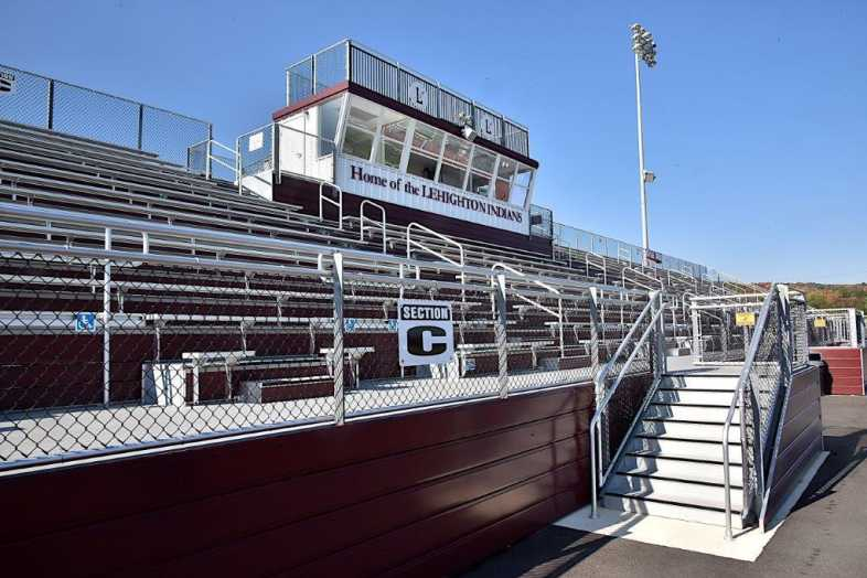 Lehighton Area School District - Football Field - Built by Southern Bleacher - 8