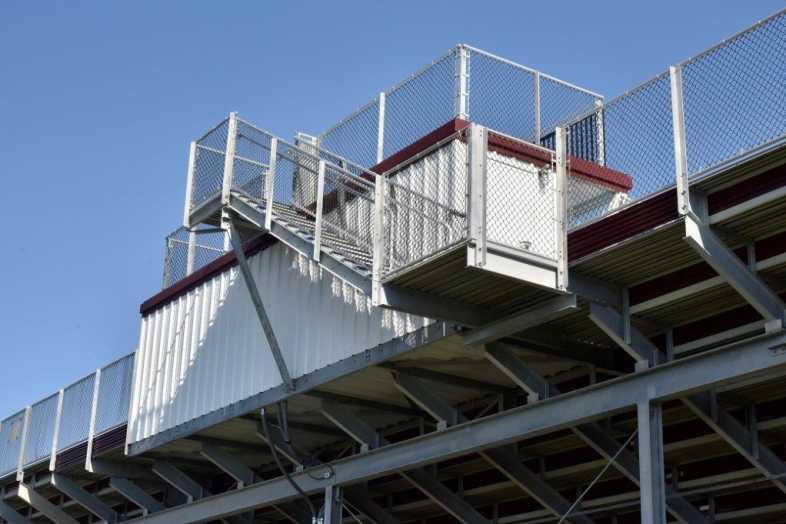 Lehighton Area School District - Football Field - Built by Southern Bleacher - 10