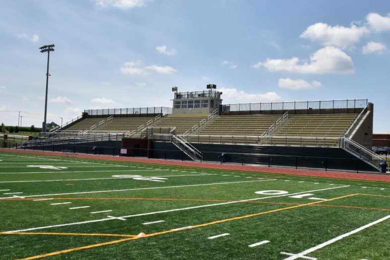 Donegal School District - Football Bleachers - Built by Southern Bleacher