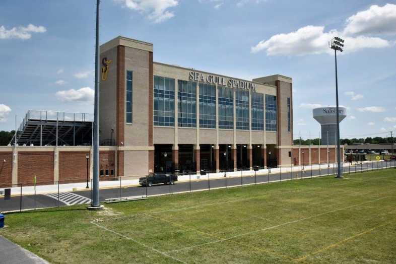 Salisbury University - Football Stadium - Southern Bleacher - 7