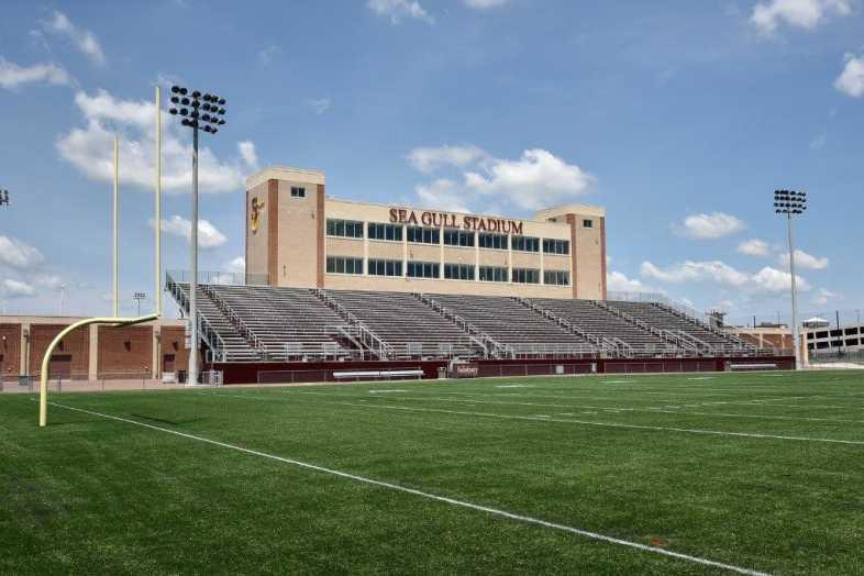 Salisbury University - Football Stadium - Southern Bleacher - 1