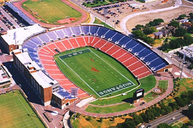 Football Bleachers - Southern Methodist University (SMU)