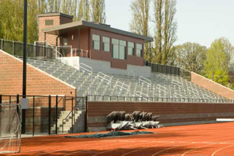 Track Bleachers - Pacific University Athletic Complex
