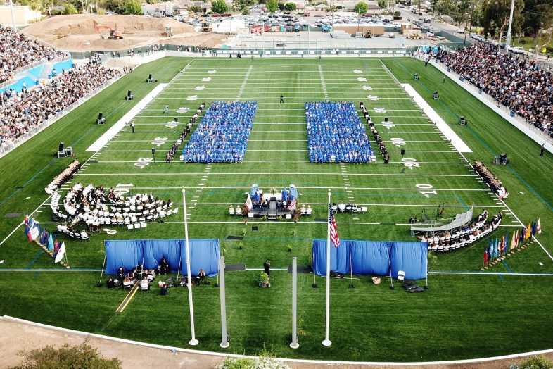 La Habra High School Graduation 2018