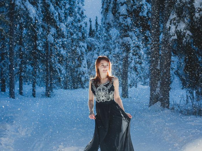 Layla During Winter Solstice - Artem Zhdanov - Fairbanks Alaska