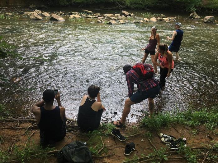 Eno River with Friends