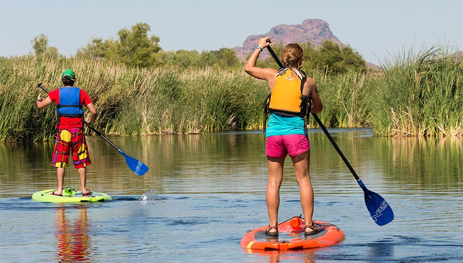 Stand Up Paddelboarding Salt River