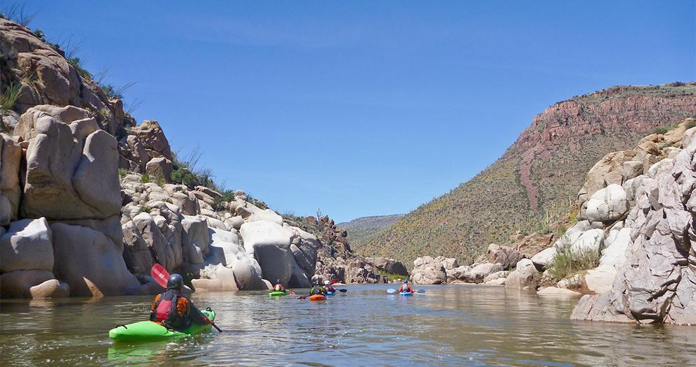 Salt River Scottsdales Scenic Waterways