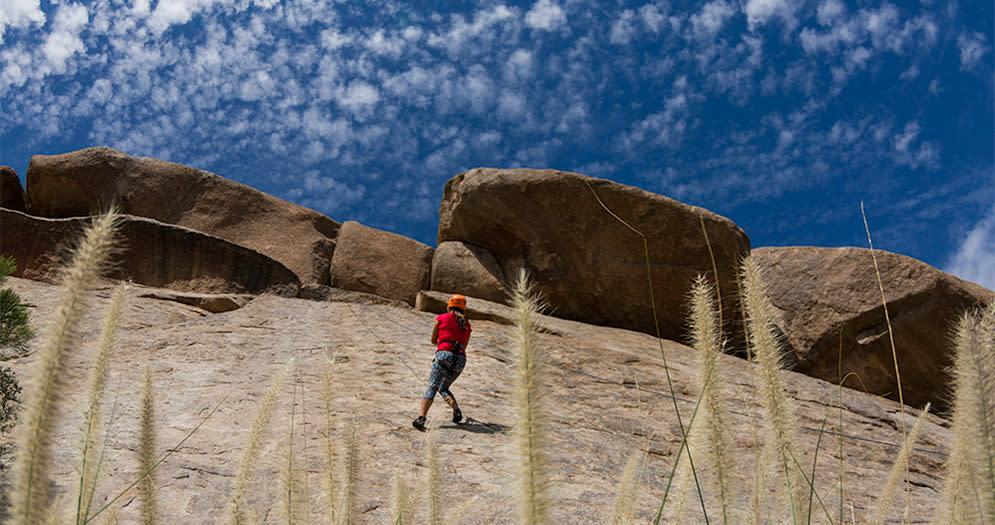 Climbing the Boulder Way Interior
