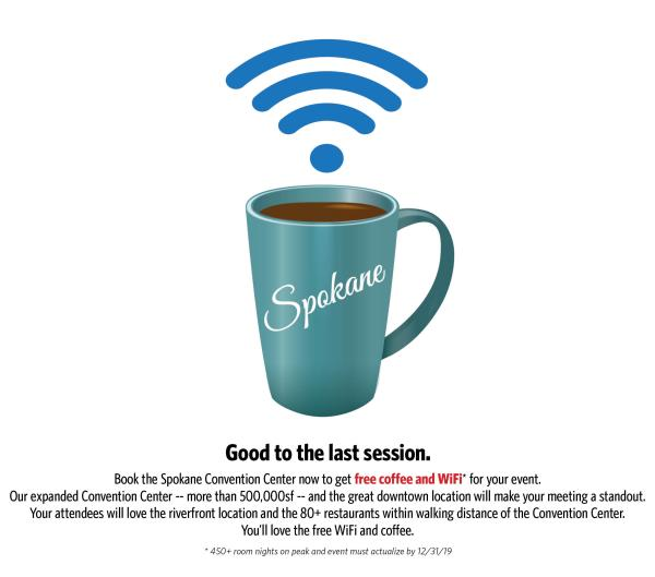 Coffe and Wifi Landing Page graphic