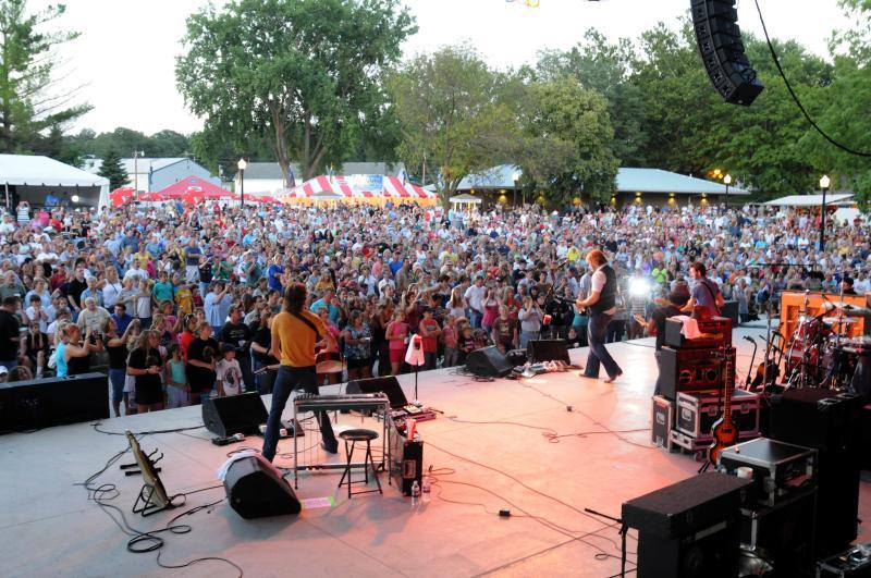 Iowa State Fair Stage Music