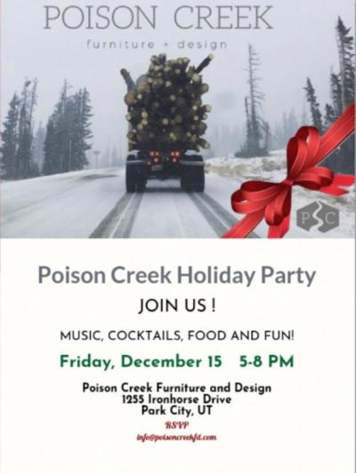 Poison Creek Holiday Party