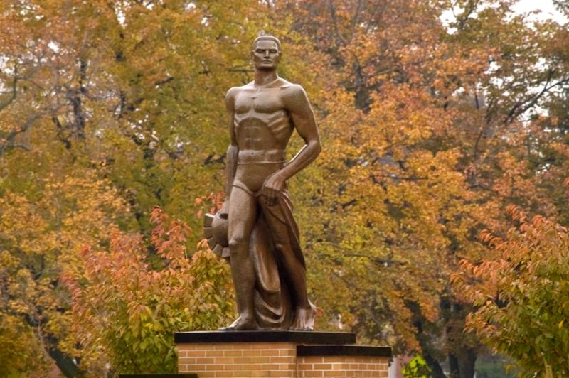The Spartan in Fall