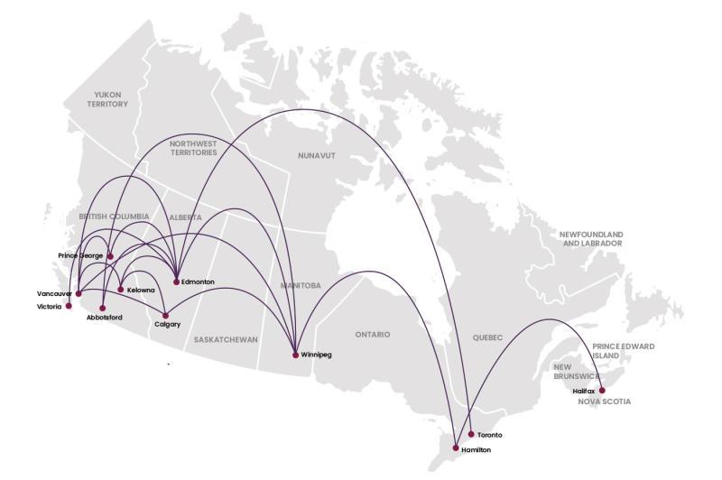 Flair Air Routes