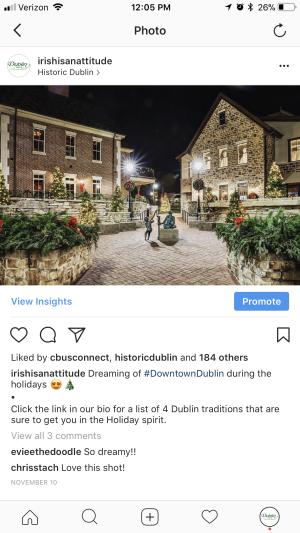Holiday in BriHi Square Instagram