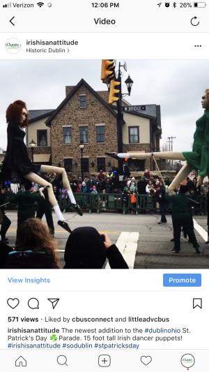 Irish Dancer Puppets Instagram