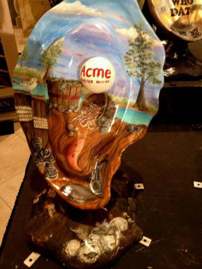 Oyster art - Acme