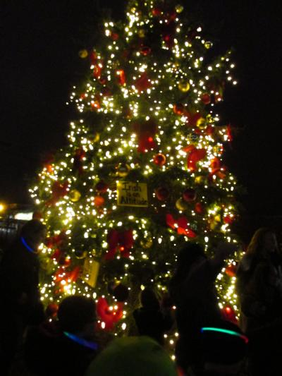 Dublin, Ohio Tree Lighting