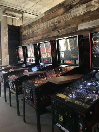 PINS pinball machines