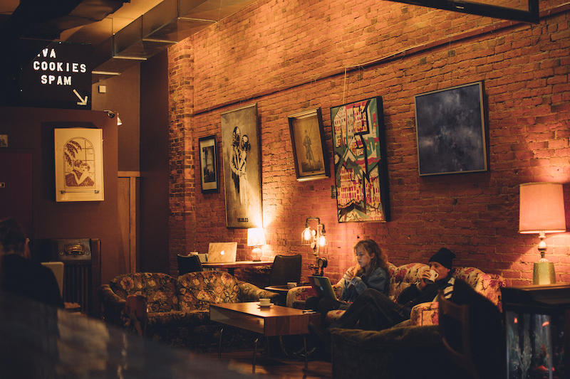 Favorite place to hangout - Racy's - Photo by: Kelsey Smith