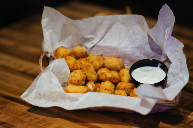 Favorite Cheese Curds - The Livery - Photo by: Kelsey Smith
