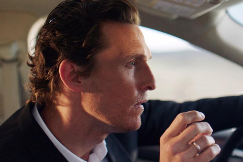 Lincoln MKC Campaign featuring Matthew McConaughey