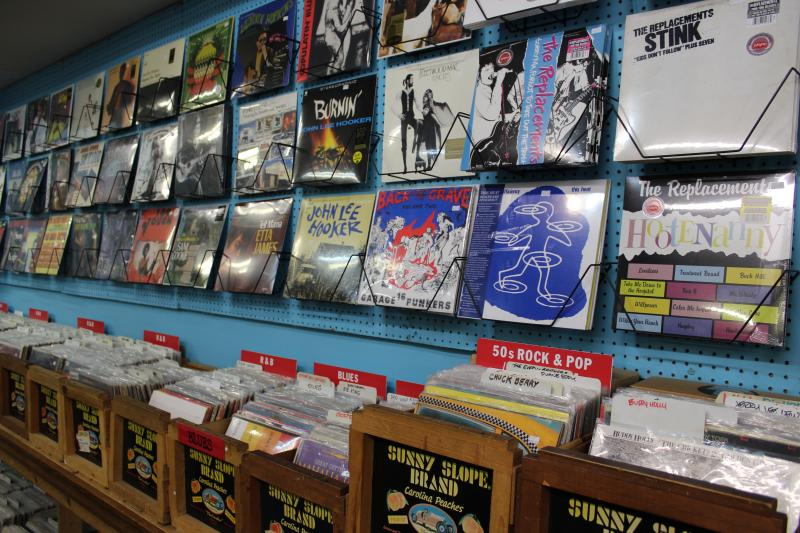Inside Wuxtry Records