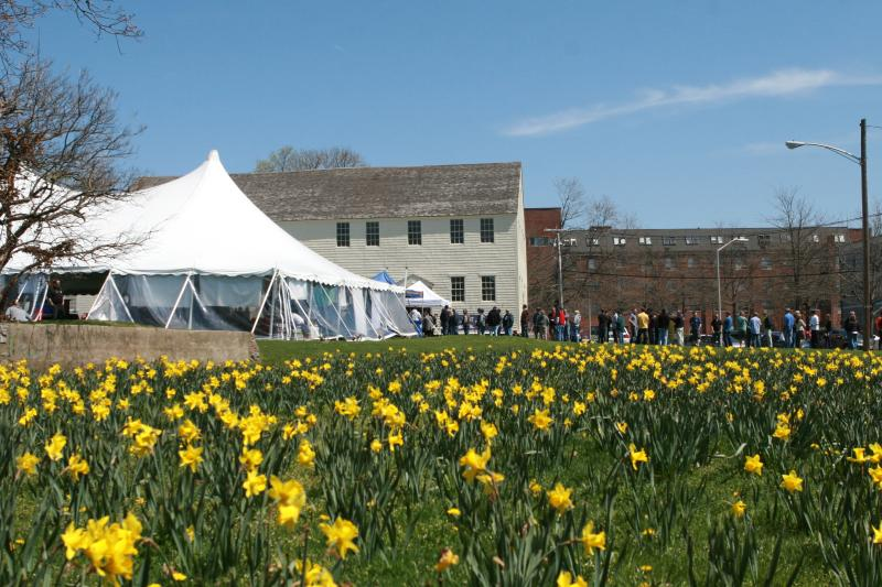 Wildflowers, tents and crowds at the annual Newport Craft Beer Festival