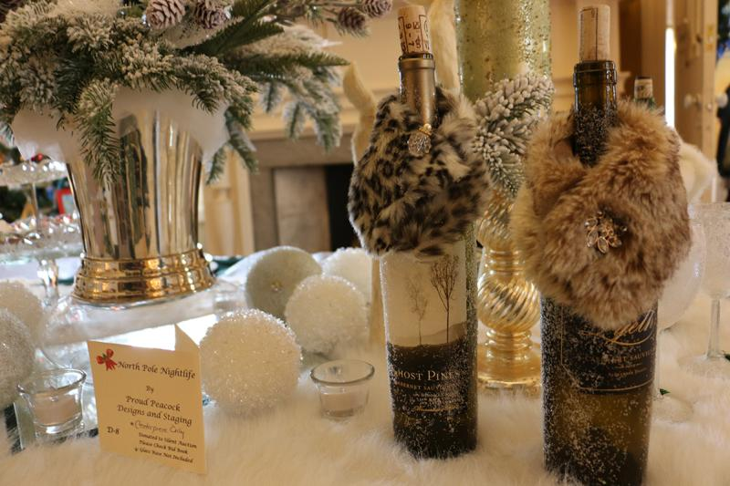 2015-granger-homestead-festival-of-trees-wine-bottles-fur-coats