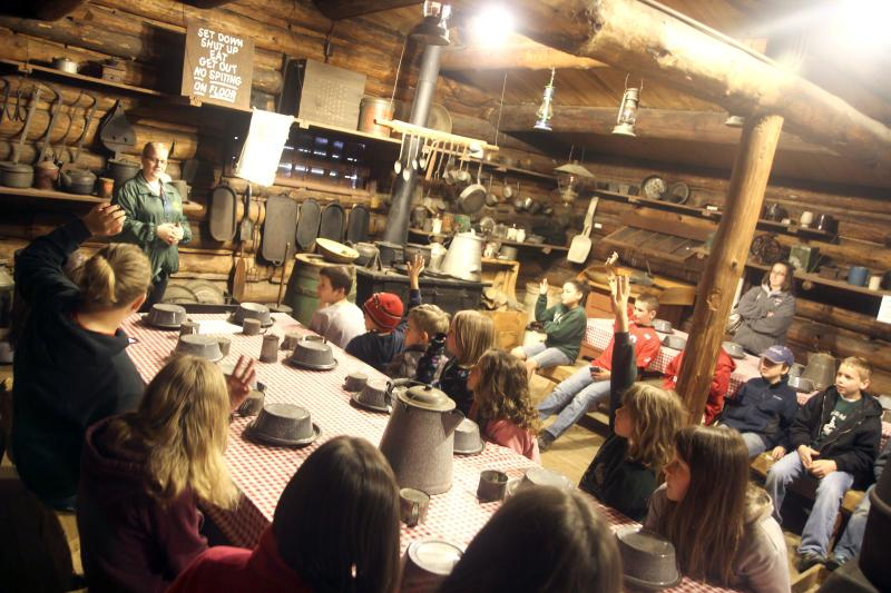 Paul Bunyan Logging Camp - Photo by: Andrea Paulseth/Volume One