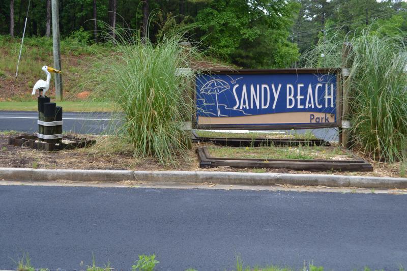 Sandy Beach Park Entrance