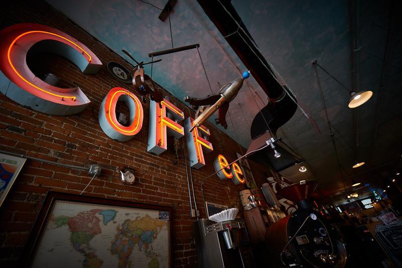 Java Joes Coffee Sign