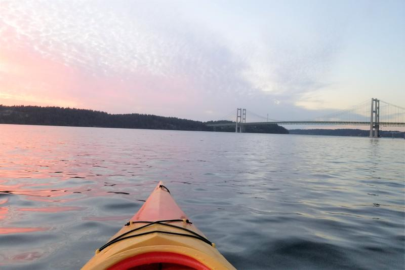 Narrows Bridge Kayak (Photo: Alex Balansay)