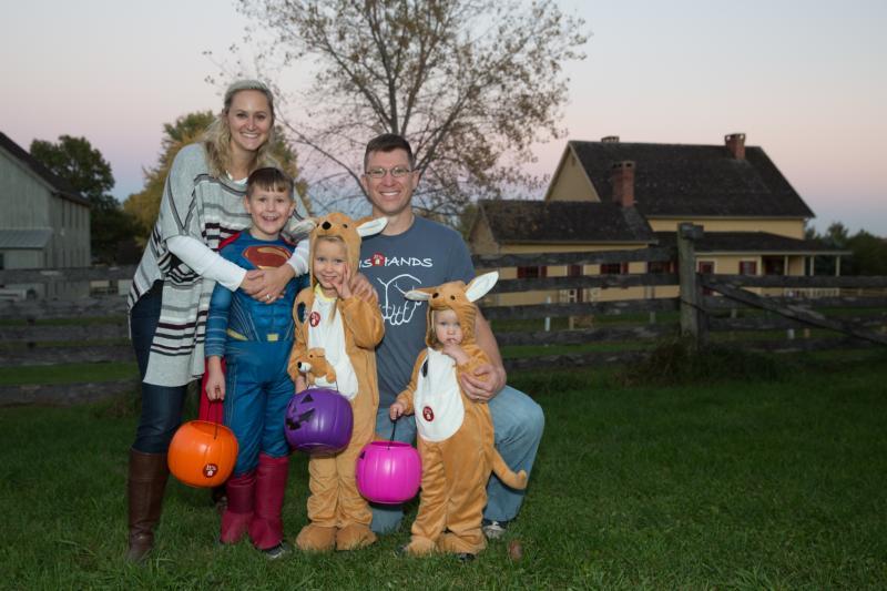 Family Halloween Living History Farms