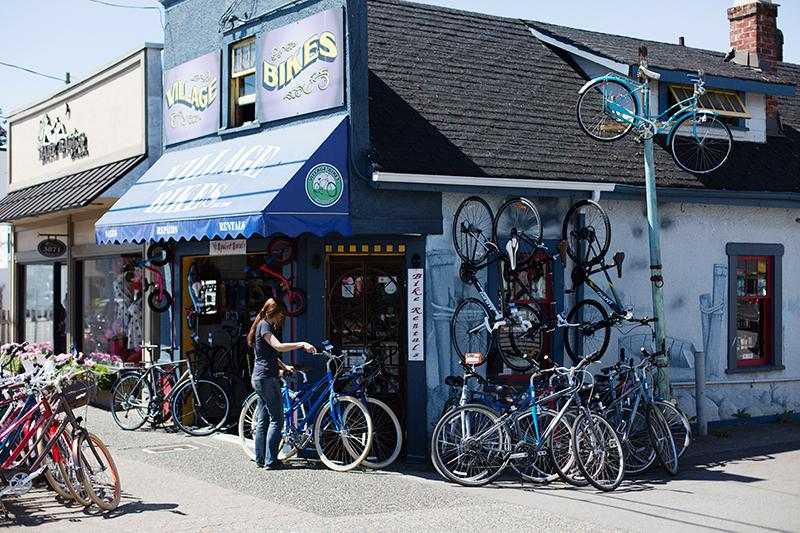 Village Bikes in Steveston