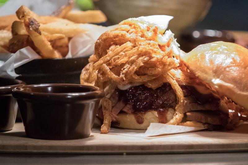 Q39 Burger and Fries in Overland Park