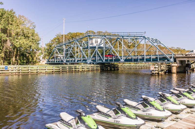 Swing Bridge in Socastee