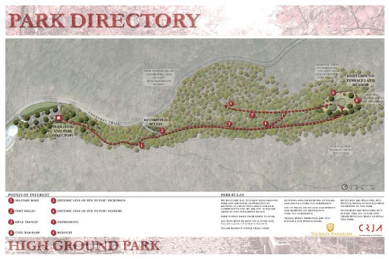 Highground Park Map