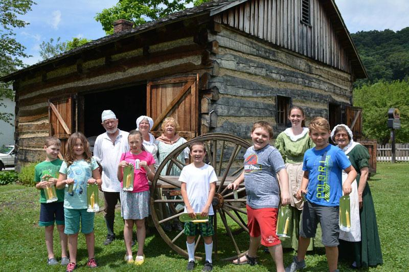 Compasss Inn Museum Stagecoach Adventurers Day Camp