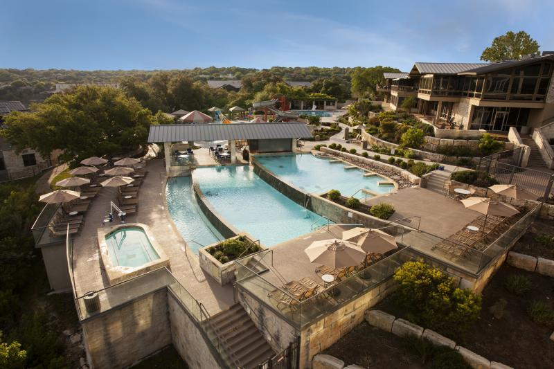 Pool at  Lakeway Resort and Spa in the Texas Hill Country