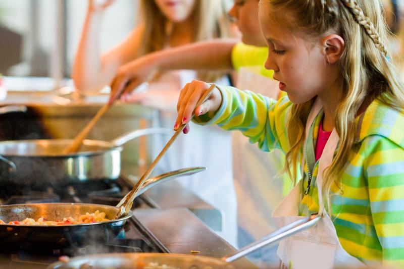 Summer Culinary Kids Camp at Con Olio in Austin Texas