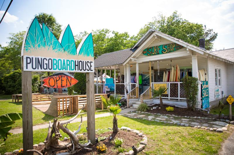 Pungo Board House Virginia Beach Surfboard Shop