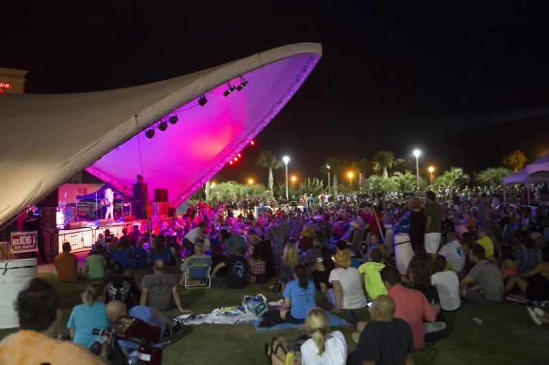 Beach Events Oceanfront American Music Festival