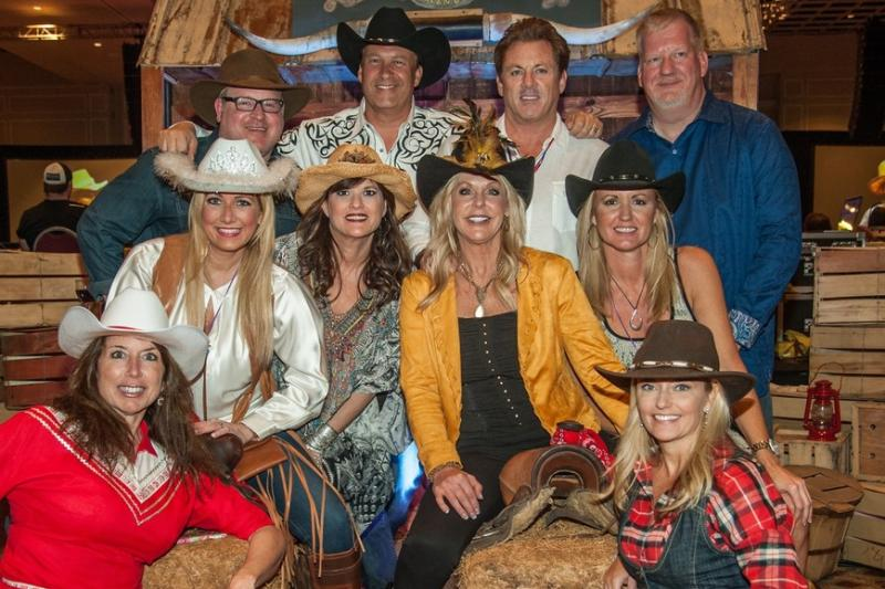 Group in western/cowboy hats and attire