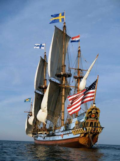 Kalmar Nyckel Full Sail