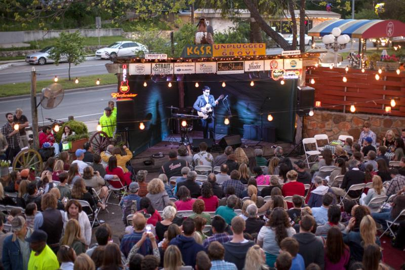 KGSR Unplugged at the Grove