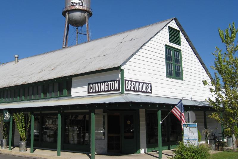 Covington Brewhouse in historic downtown Covington