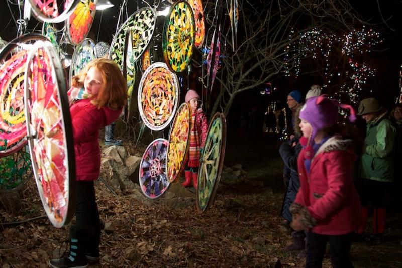 Ballard Park Illuminated Garden