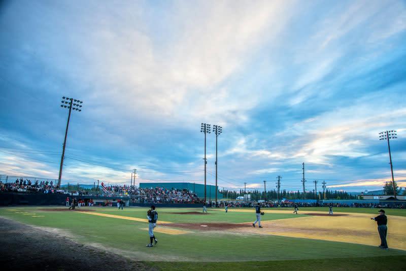 Midnight Sun Baseball Game Fairbanks Alaska
